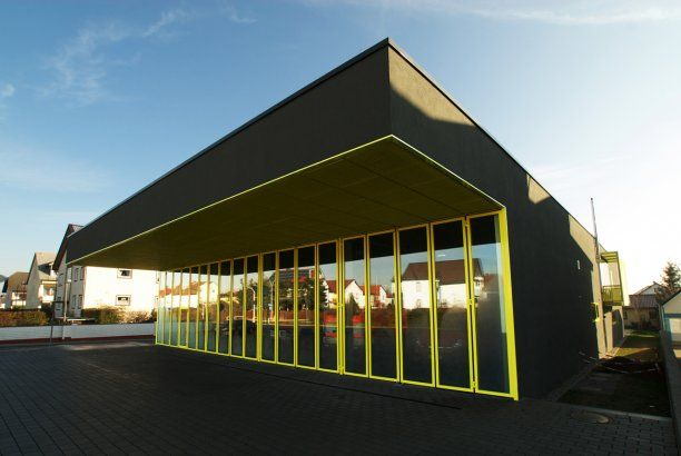 A German fire station with pizzazz