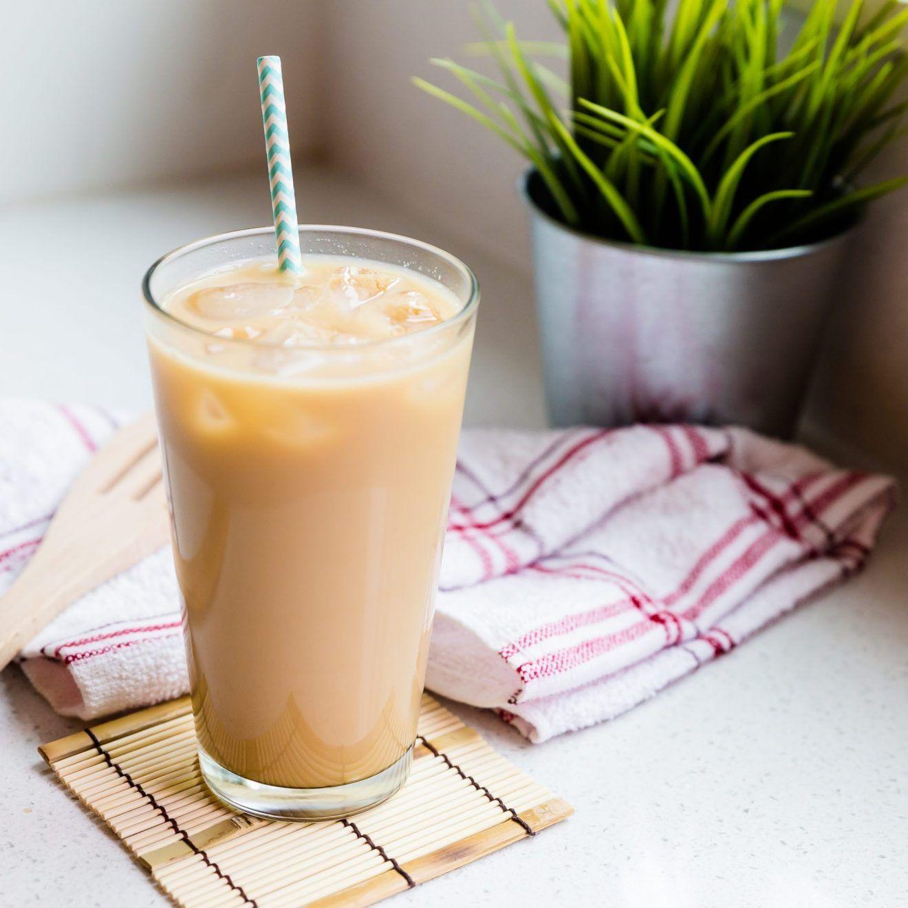 Iced Vanilla Chai Tea Latte
