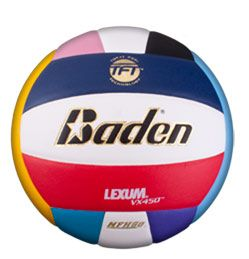 Midwest Volleyball Warehouse Baden Vx450c Multi Color Baden Volleyball Volleyballs