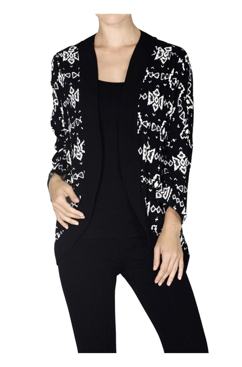 Abstract Tribal Print Kimono Cardigan | Abstract, Products and ...