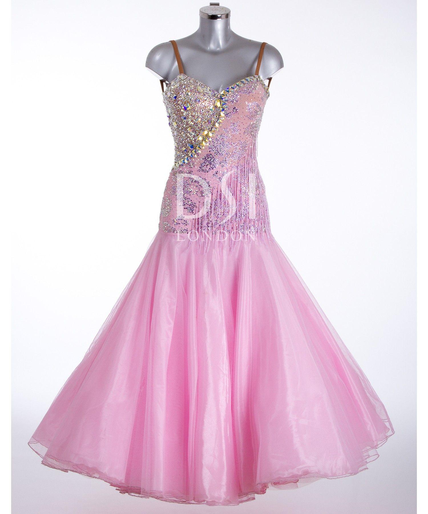 373679 Rse Pink Ballroom Dress | Ballroom dresses for sale ...