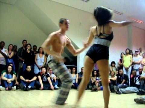 Bruno Galhardo e Rúbia Frutuoso - Zouk Solum Escola de Dança