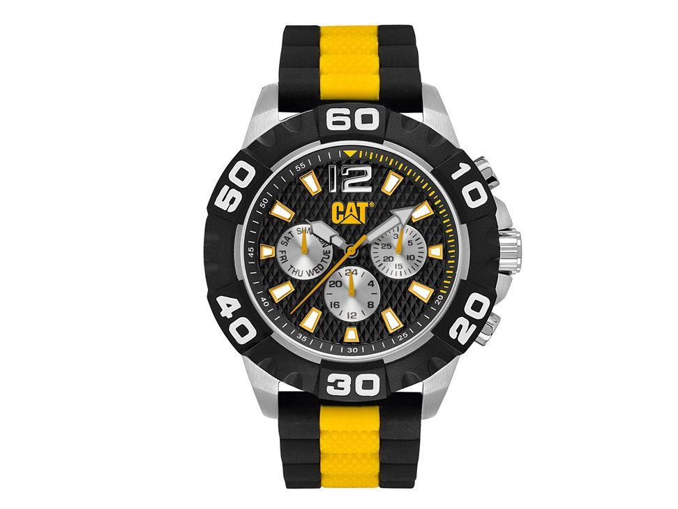 b76164191381 Reloj Cat Análogo Negro Amarillo para Caballero-Liverpool es parte de MI  vida