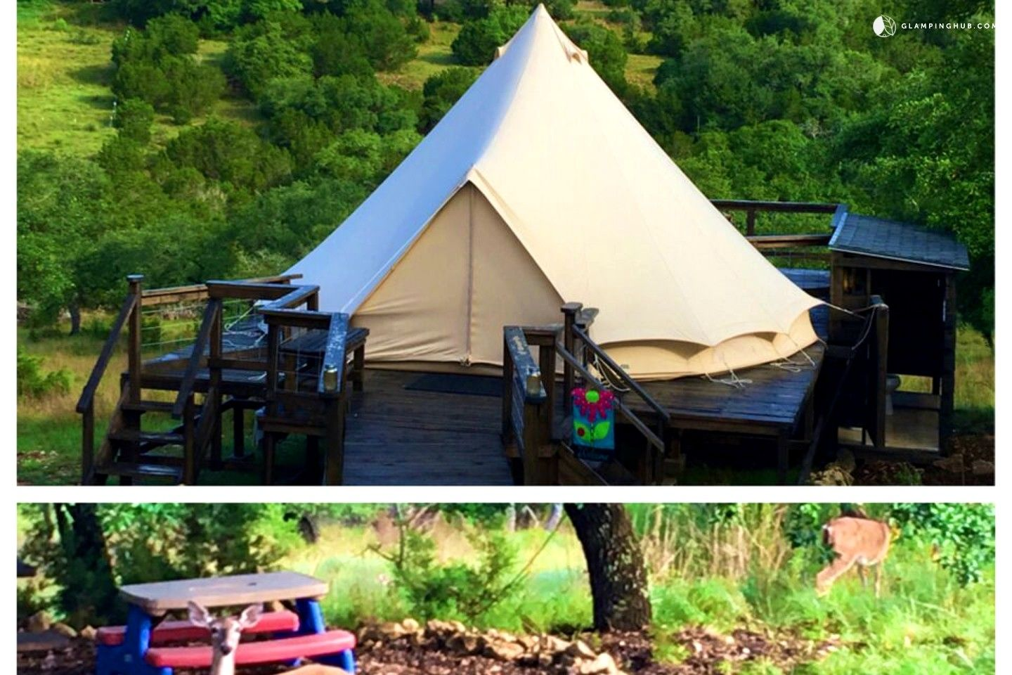 Family-Friendly and Unique Bell Tent Camping near San ...