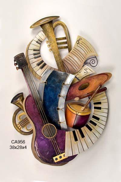 Pin By Ginny Rowenna On Music Art Music Metal Wall Art Instruments Art Art Music