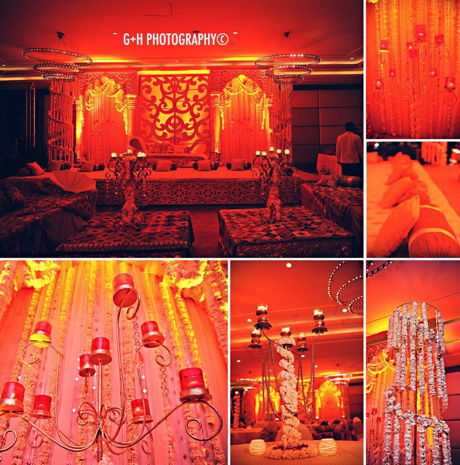 Garden Decor Delhi: Swati + Saurabh's New Delhi Engagement Ceremony