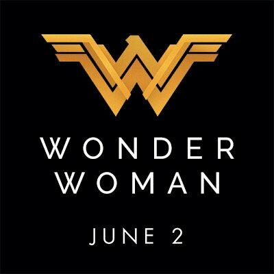 Wonder Woman twitter Icon. Promoting the June 2nd release