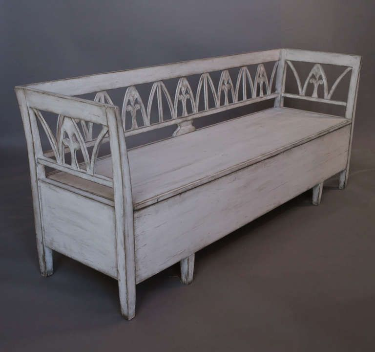 Swedish Storage Bench | From A Unique Collection Of Antique And Modern  Benches At Http: