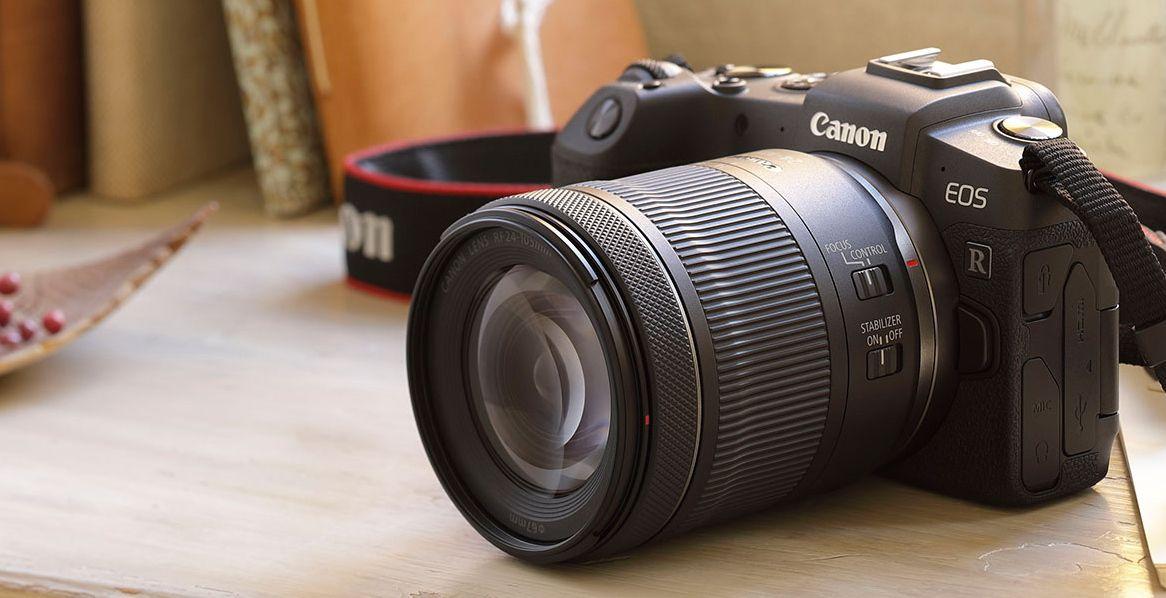 Canon Eos Rp Full Frame Mirrorless Interchangeable Lens Camera Rf24 105mm Lens F4 7 1 Is Stm Lens Camera Lens Eos Lens