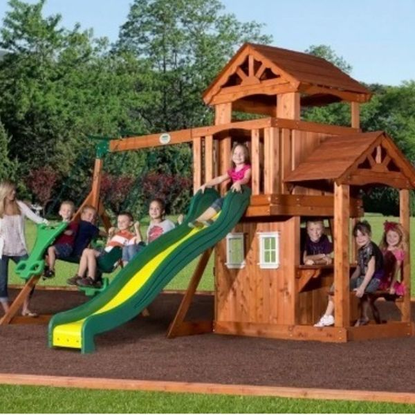 Best Wooden Playsets For Kids >> Choose from small or big ...