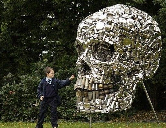 art made from cans - Google Search