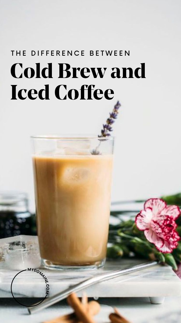 Cold brew vs iced coffeewhich side are you on cold