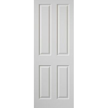 Cadeby 4 Panel Fire Door With Woodgrained Effect Is Primed And 1 2 Hour Fire Rated Fire Doors Primed Doors 4 Panel Doors