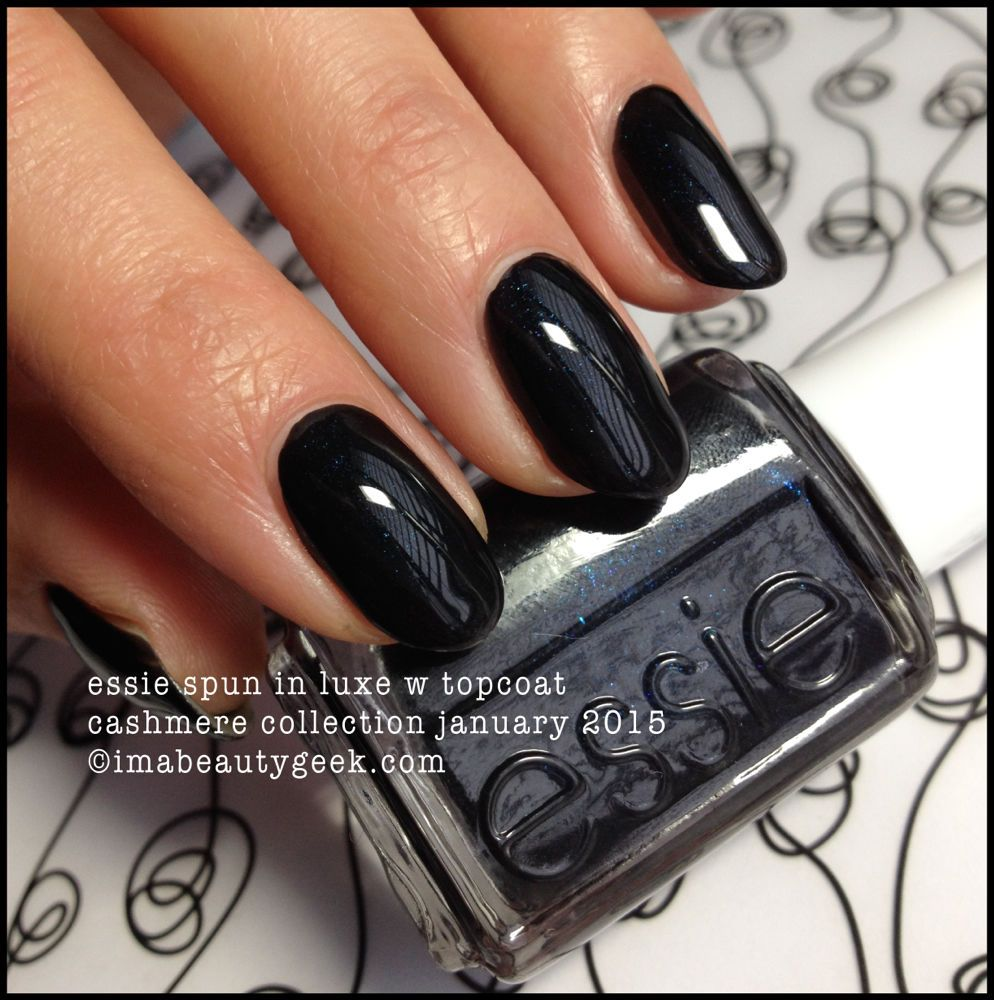 essie s spun in luxe polish gel from its 2015 cashmere collection