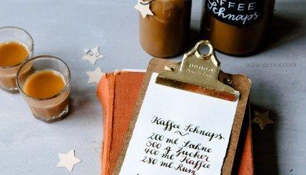 Geschenke aus der Küche: Heiße Liebe Likör