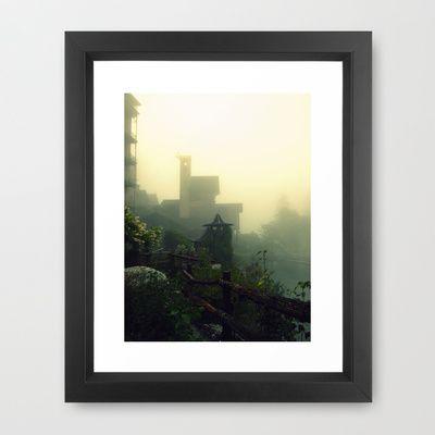 East Framed Art Print by Raissa - $35.00