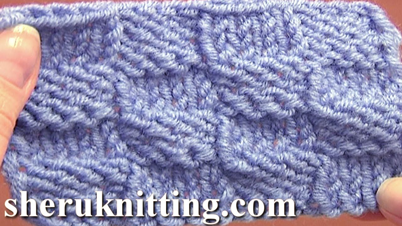 Knitted Checkerboard Stitch Pattern Tutorial 8 Easy Knitting Stitch