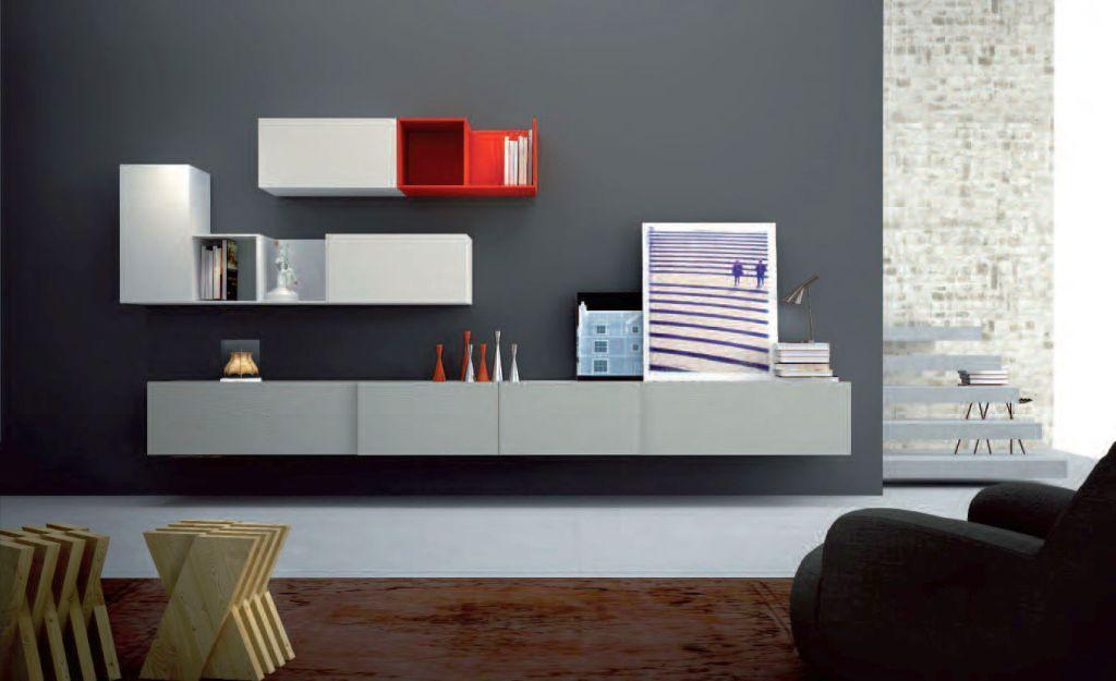 10 Stunning Wall Storage Units Living Room