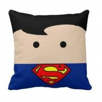 Handmade Superman Pillow #superman ... Price: $34.99 ... Where to Buy: Alwaysfits.com ... ♥ the #giftdetectives