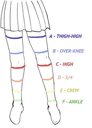 Zettai Ryouiki With Images Socks Drawing Anime Skirts Anime