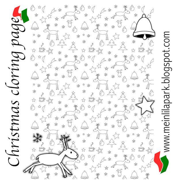 Colorear de Navidad para imprimir gratis - ausdruckbare Malseite ...