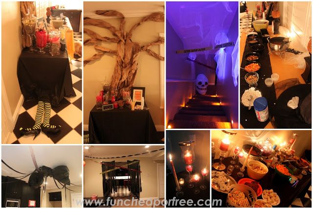 Halloween Party Ideas fun cheap or free style Halloween parties - sweet 16 halloween party ideas