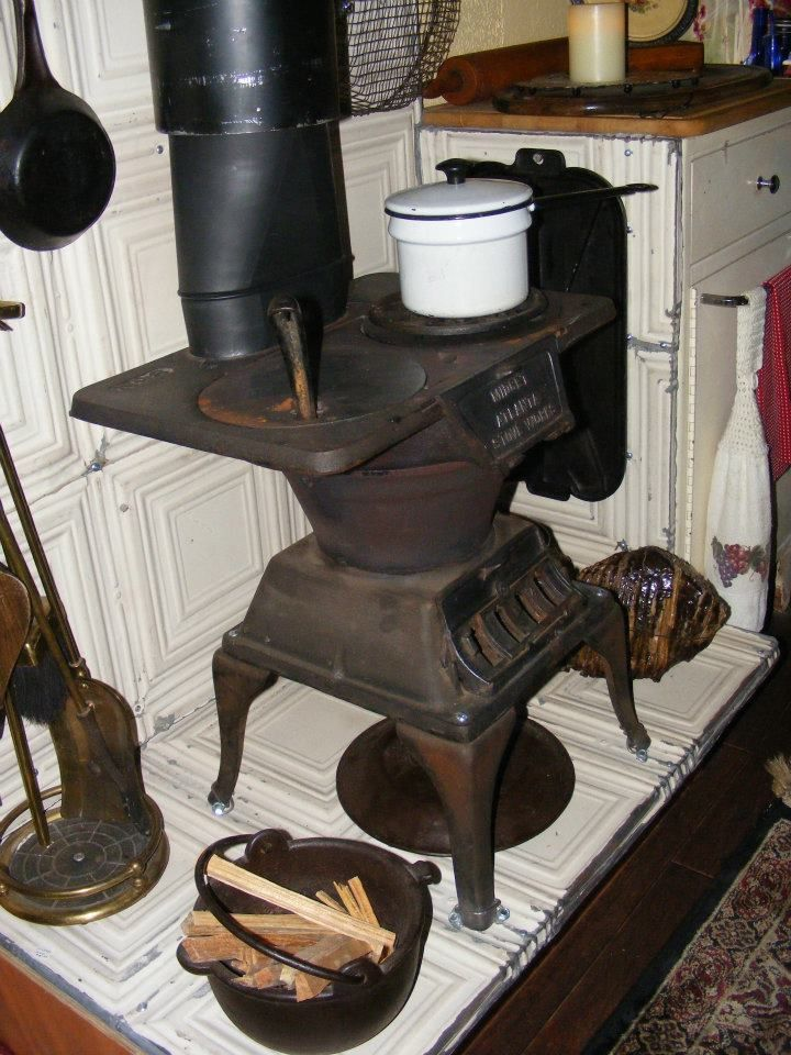 Wood stove in a camper ? Absolutely, I installed this antique Midget No.8 - Wood Stove In A Camper ? Absolutely, I Installed This Antique