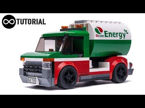 Lego Octan Truck Moc Speed Build Instructions Youtube Lego