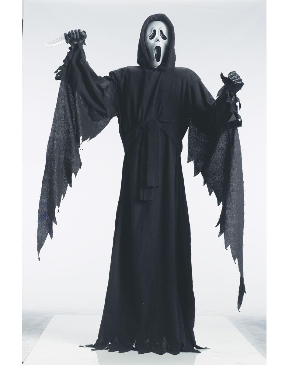 Scream 6 ft Standing Ghostface Decoration | Halloween time ...
