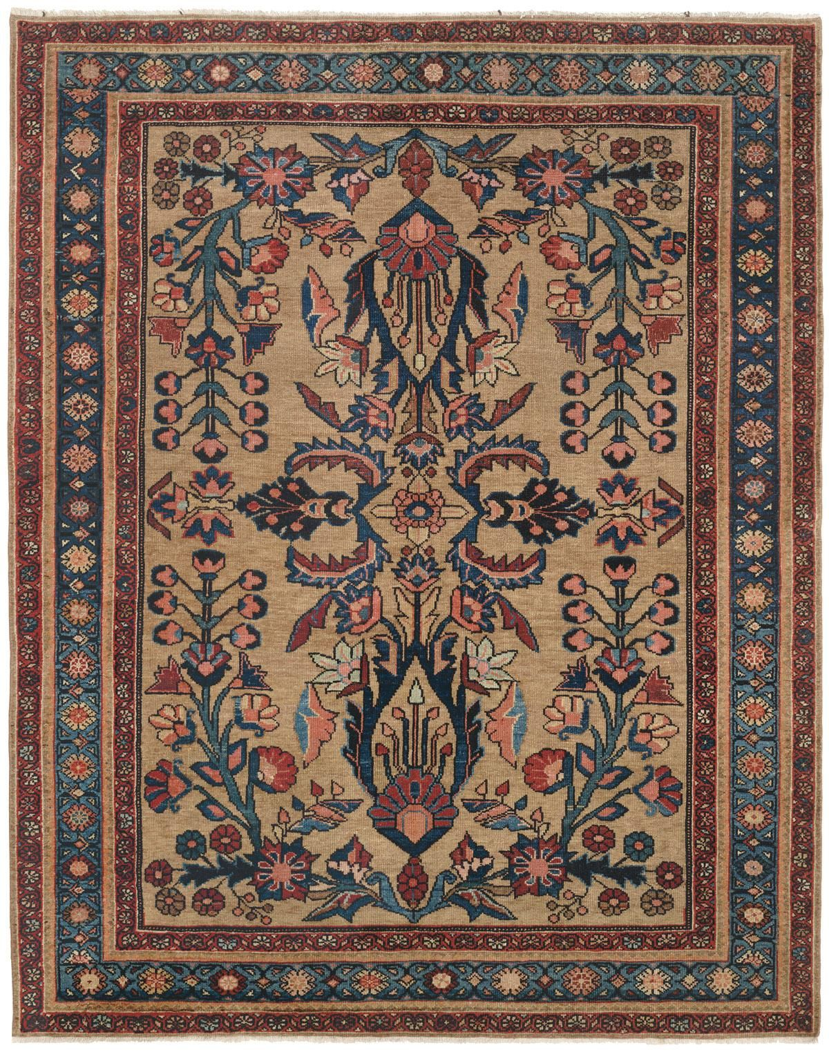 Tappeto Persiano Caratteristiche Guide To Antique Oriental Camelhair Rugs Tappeti 3