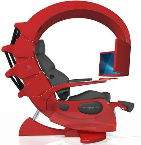 How Do You Like My New Office Chair It