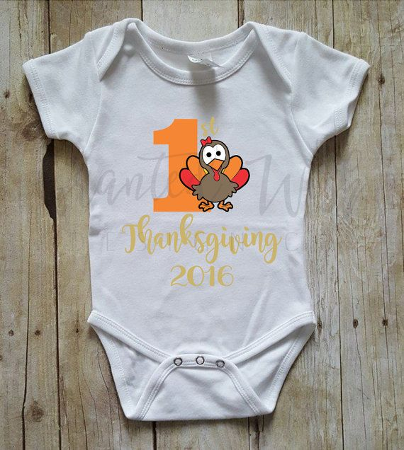 Check out this item in my Etsy shop https://www.etsy.com/listing/476953882/my-first-thanksgiving-onesie