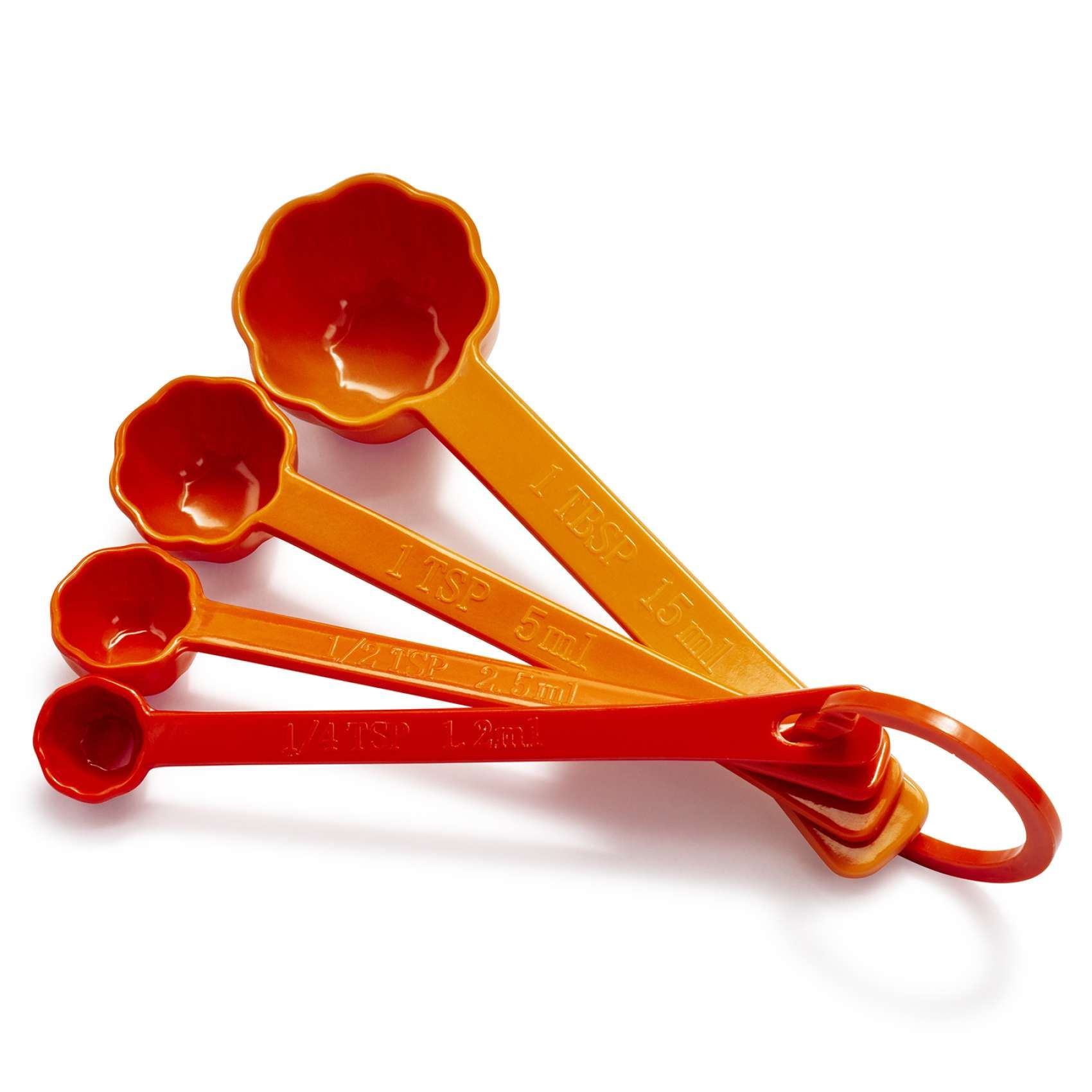Pumpkin Measuring Spoons Set Of 4