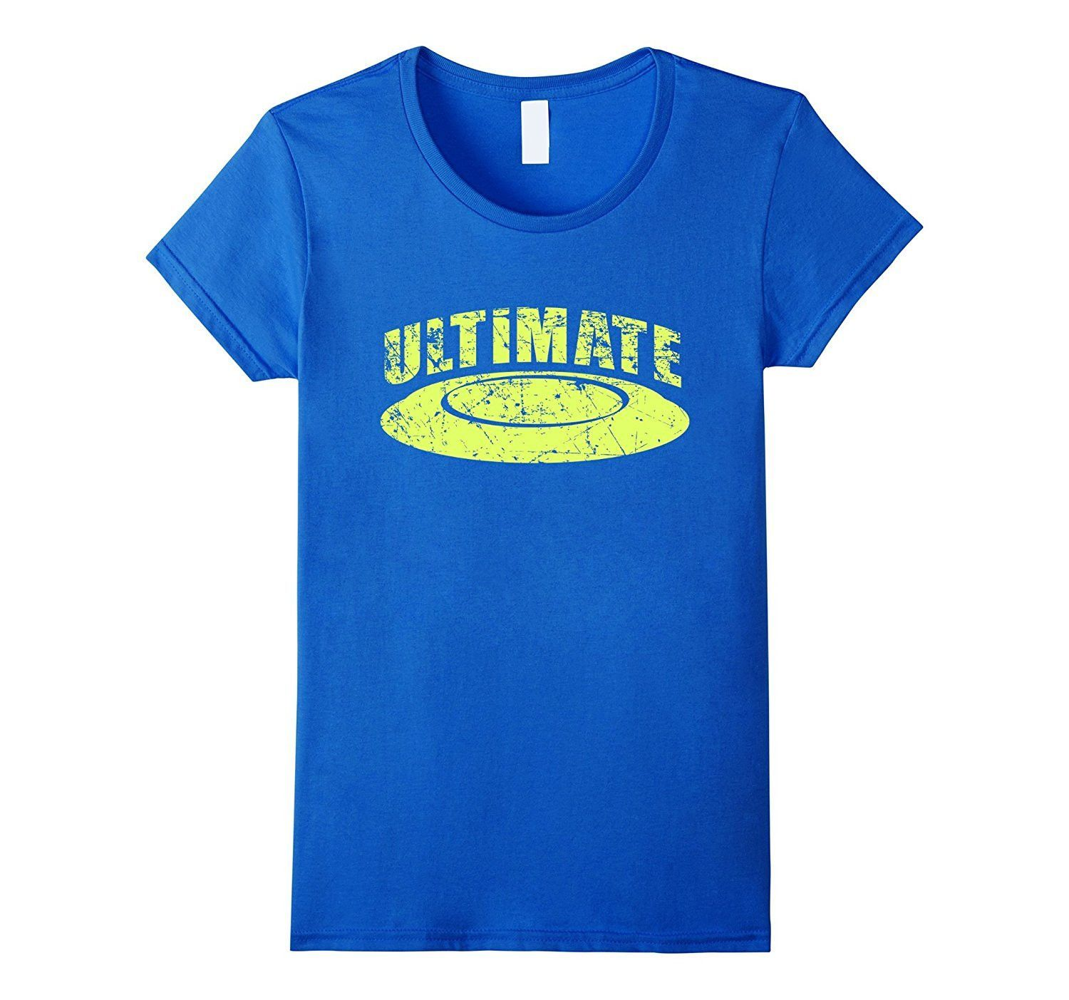 Ultimate Frisbee Shirt- Vintage Distressed Simple Sport Gift ...