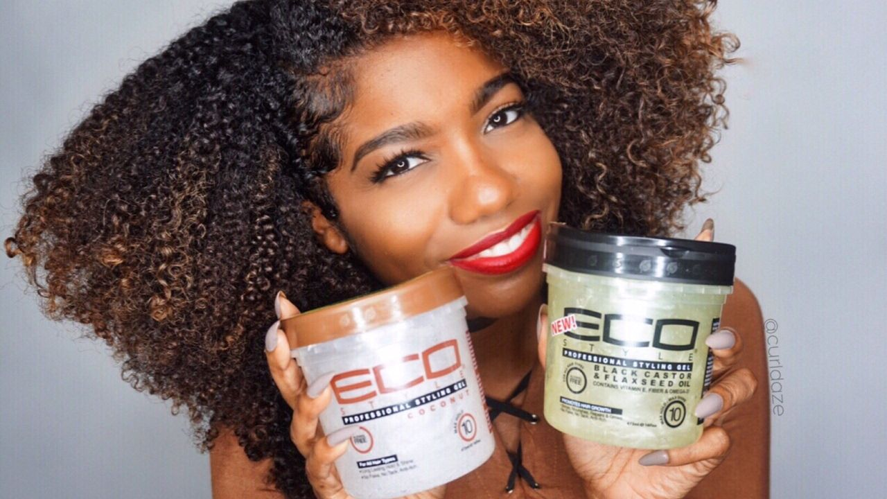 Part 1 All About Eco Styler Black Castor Flaxseed Oil Gel And Coconut Oil Gel Video Natural Hair Styles Natural Hair Twist Out Eco Styler Gel