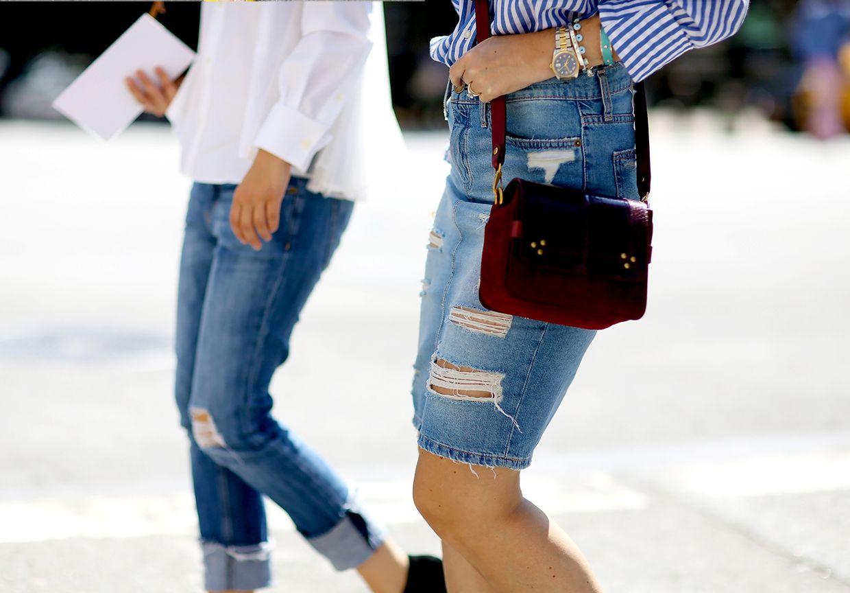 #TrendAlert Style blogger Jessie Bush snaps the hottest denim looks on the street #TheBlues http://www.harveynichols.com/news/features/denim-street-style/