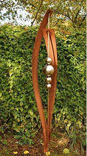 Gartendeko Skulptur Petra Rost Garten Deko Skulpture Stecker ...