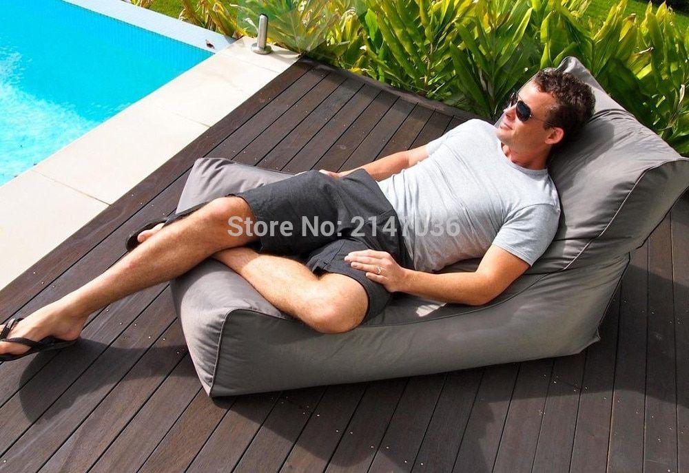 aliexpress com buy xxxl large giant bean bags lounger cover high back gaming sofa chair seat garden new with bean bag lounger giant bean bags gaming sofa