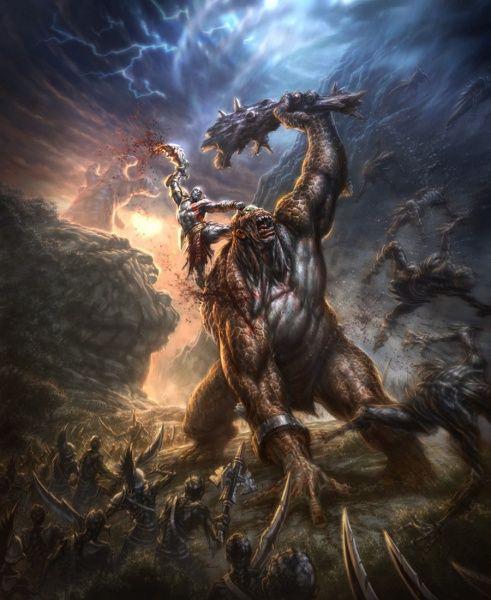 God Of War Iii Concept Art Kratos God Of War God Of War