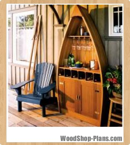 Boat Shaped Bar Woodworking Plans