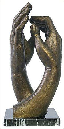 Escultura de mãos