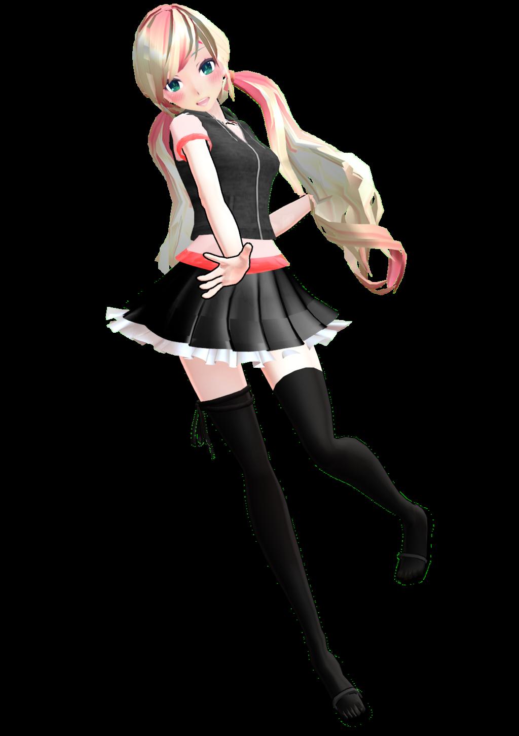 Mmd dress models download by hikariwakamiya on deviantart - _mmd__model___nowy___dl_by_kuma_shii D7tt439 Png 1024 1451
