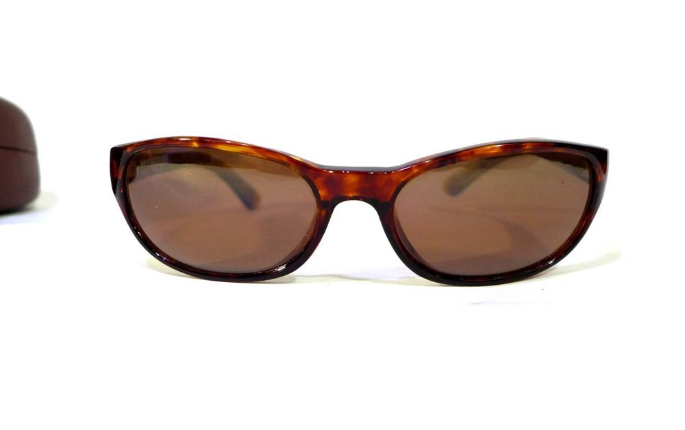 ae9b848175548 Maui Jim Tortoise Shell Cyclone Sunglasses Frames MJ-136-10 with MJ Case  Japan
