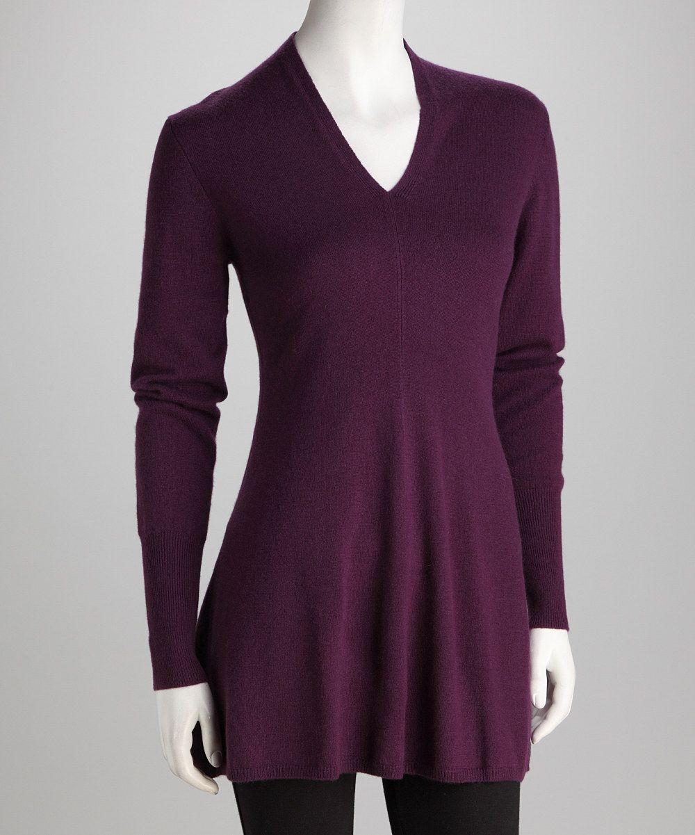 Forte Cashmere Mulberry Cashmere V-Neck Sweater