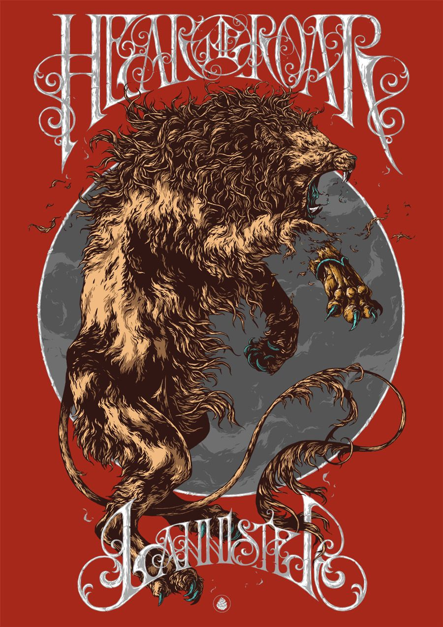 House Of Lannister By Ivan Belikov Via From Up North Game Of