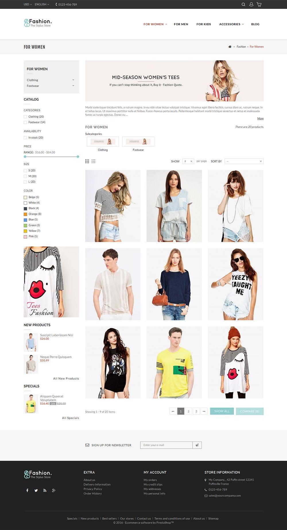 Fashion Store Fashion Store Fashion Layout Web Design Inspiration