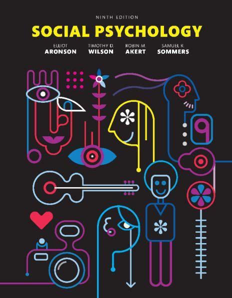 social psychology aronson 9th edition pdf download psychology