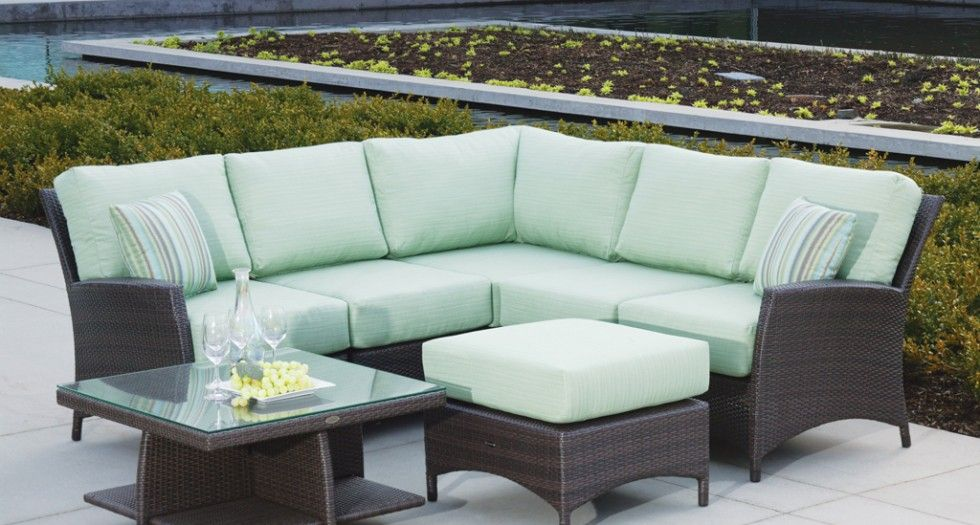 Curved Or Straight Sectional Option With The | Palm Harbor Collection |  From Ratana.