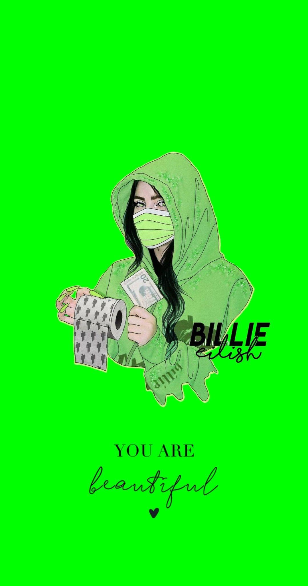 Billie Eilish Wallpapers Billie Eilish Billie Neon Wallpaper