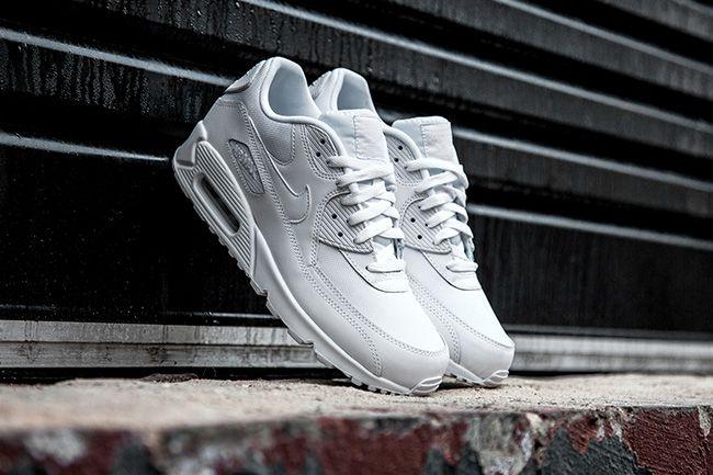 shopping air max 90 all hvit on feet e3efd 193aa